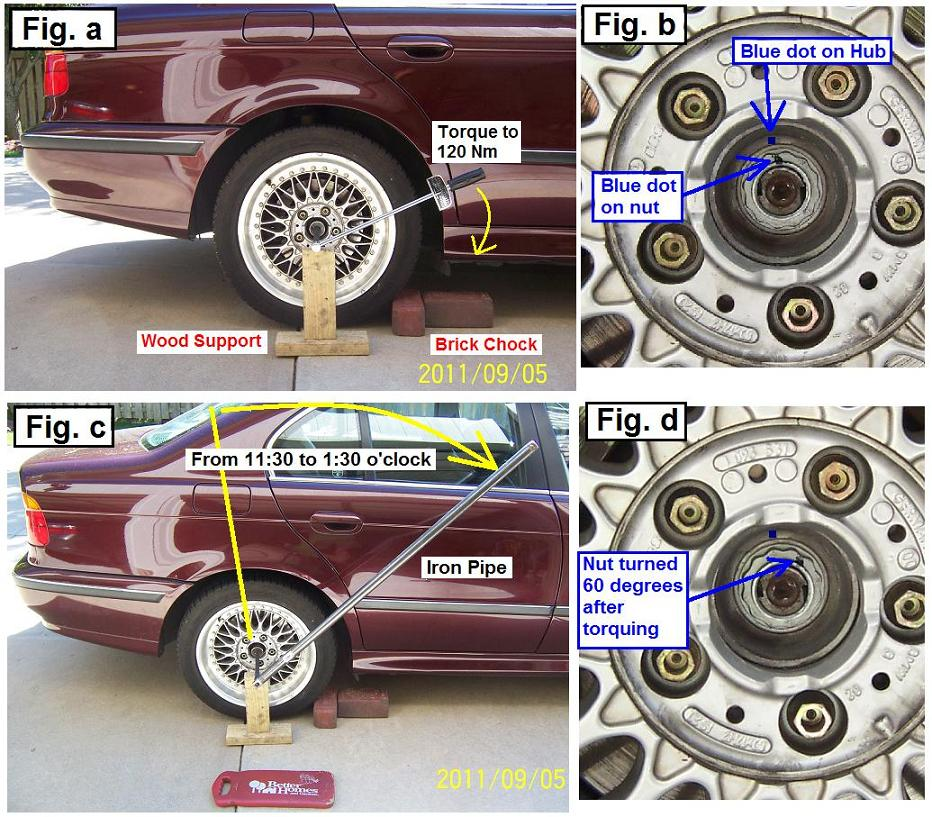 bmw e39 wheel bearing noise