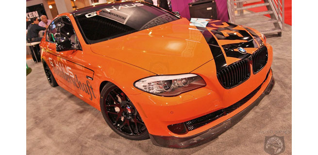 More Photos of the BMWs at SEMA thanks to AutoSpies.com