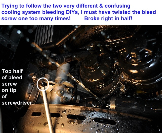 DIY: The trick on how to fill the M52, M54 coolant - Bimmerfest
