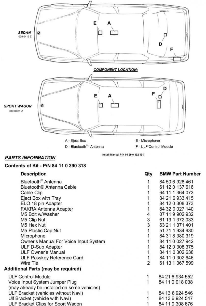 Module amplifier professional bmw e38 e39 e46 x5 e53 bmw - Click Image For Larger Version Name Bt Jpg Views 15196 Size 118 7