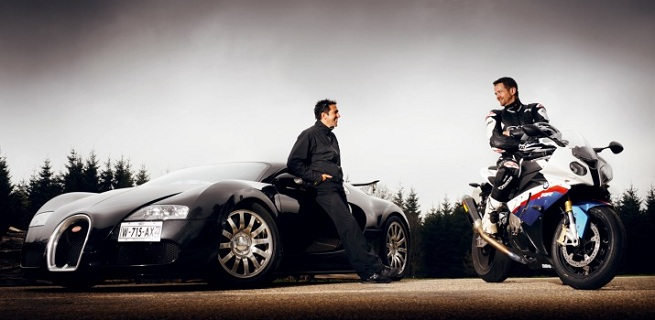 Edmunds Inside Line: 2010 Bugatti Veyron 16.4 vs. 2010 BMW S 1000 RR
