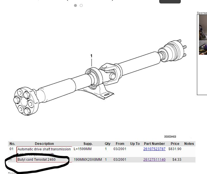 Replace my drive shaft or replace worn parts bimmerfest bmw click image for larger version name butylg views 2020 size 494 sciox Image collections