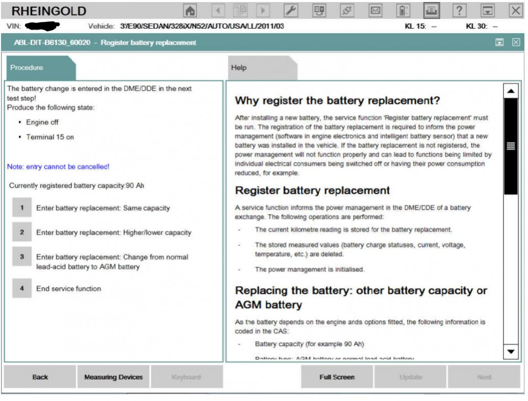Change battery type with Rheingold ?? - Bimmerfest - BMW Forums