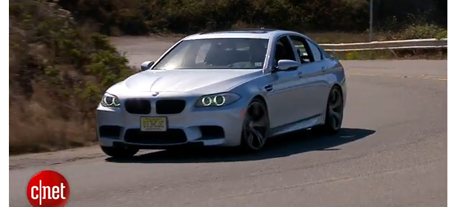 CNET on Cars - 2013 BMW M5