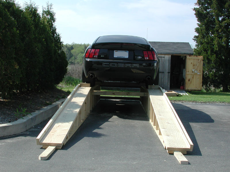 Diy Homemade Wooden Ramps For Your Car Page 2 Bimmerfest Bmw
