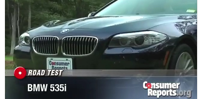 "Consumer Reports BMW 5 Series (F10) falls short of the ""Ultimate Driving Machine"""