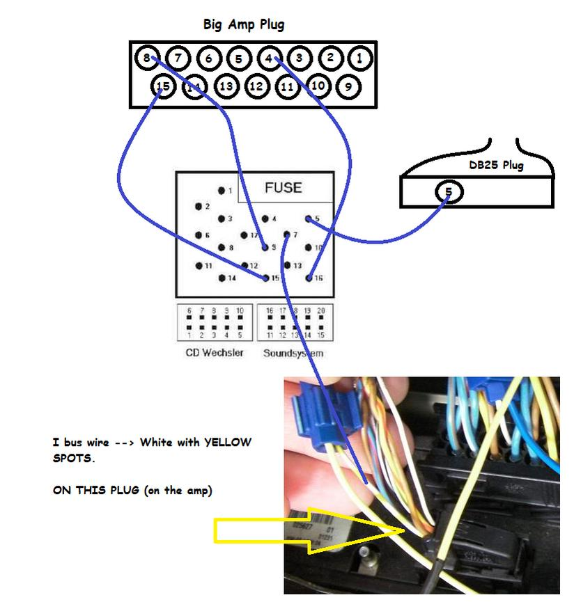 bmw e46 stereo wiring diagram free picture modifier branchement autoradio erisin : section ...