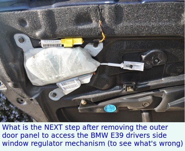 What S The Next Step For Removing The Door Panel To