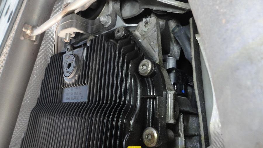 2008 BMW 750Li E66 Transmission fluid change with photos