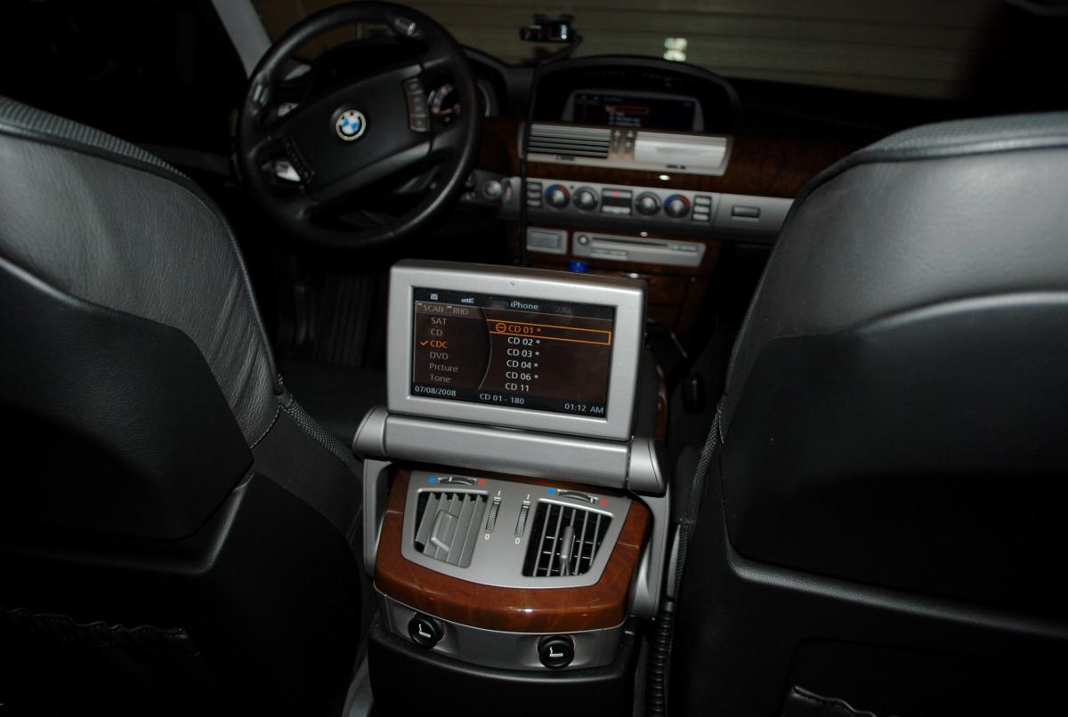 2006 750Li auxiliary output for iPod? - Bimmerfest - BMW Forums
