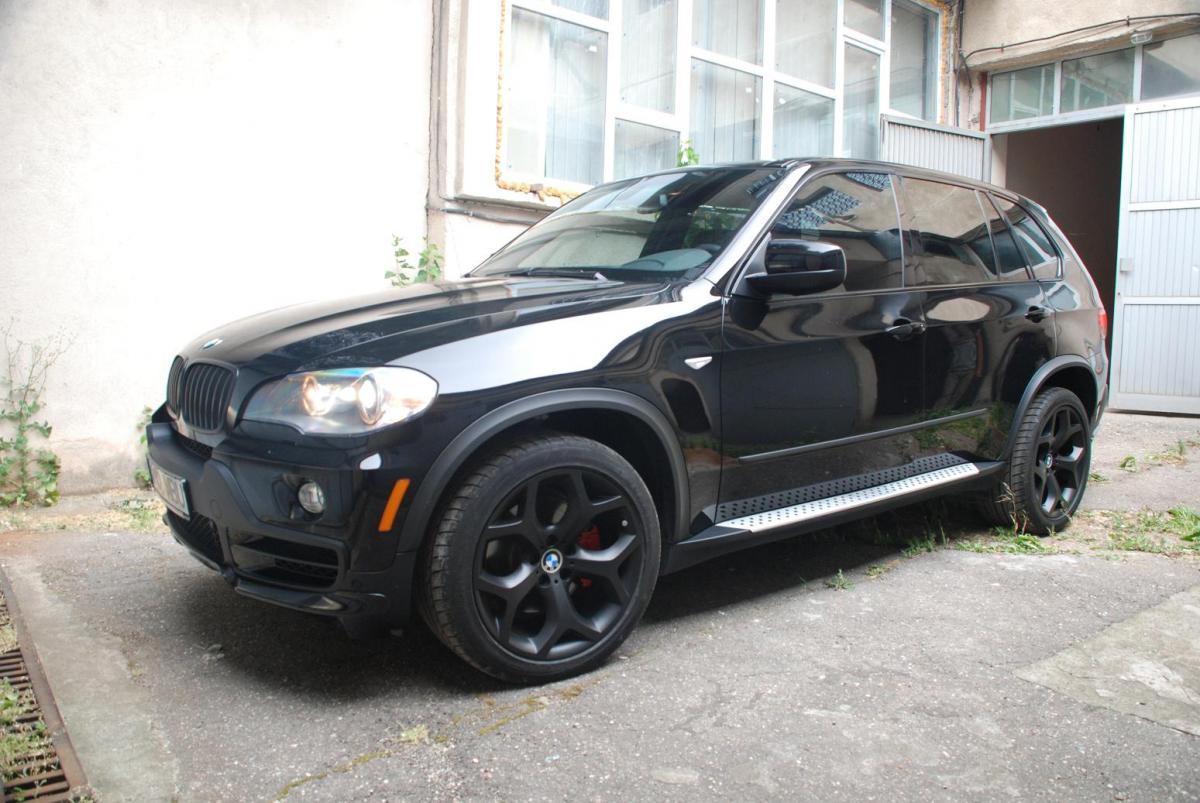 Black E70 With 20 Black Rims Bimmerfest Bmw Forum