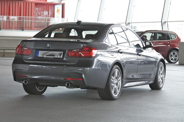 M Sport F30 Mineral Grey