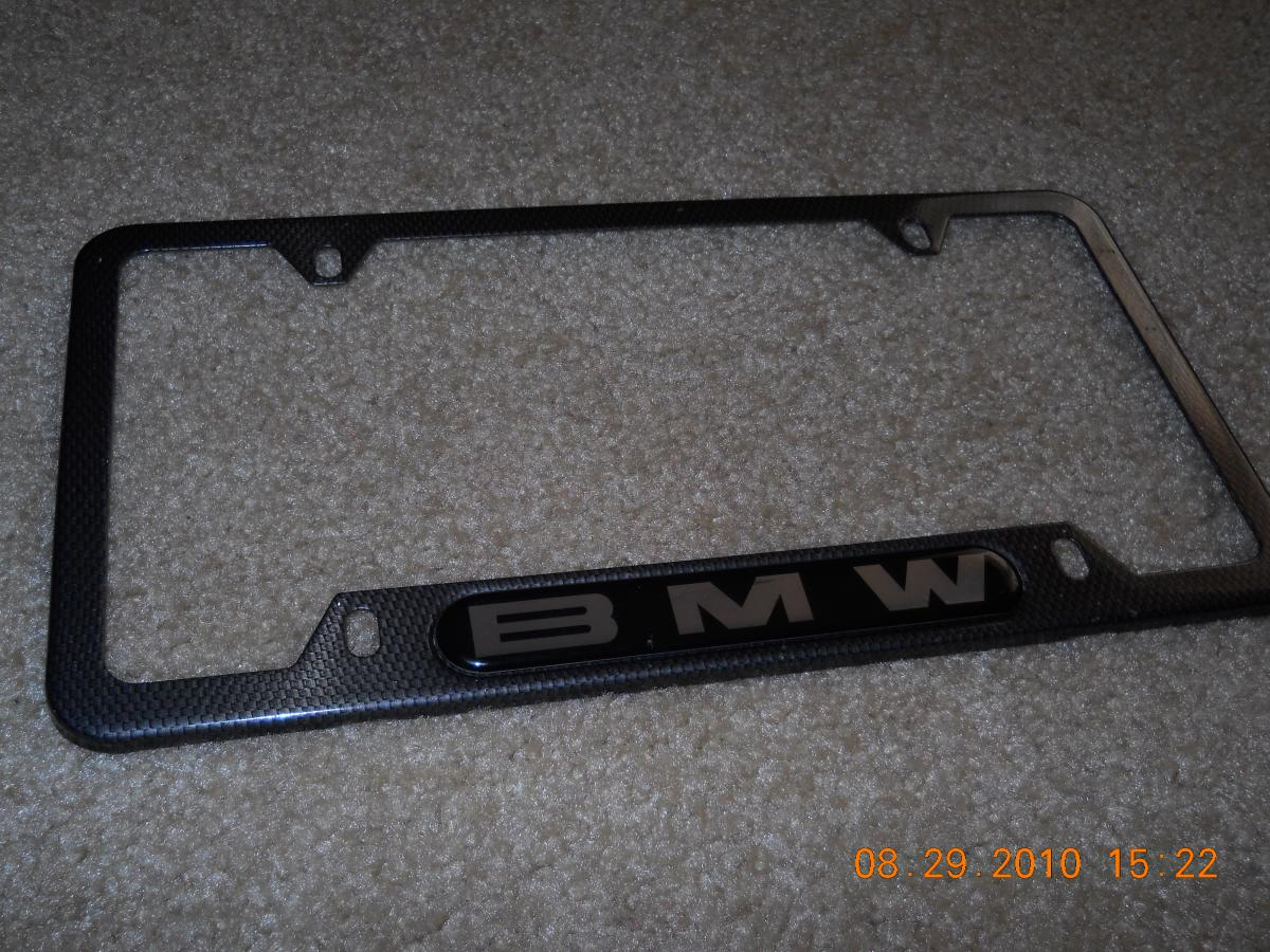 sale sold carbon fiber style bmw license plate holder 30 shipped. Cars Review. Best American Auto & Cars Review
