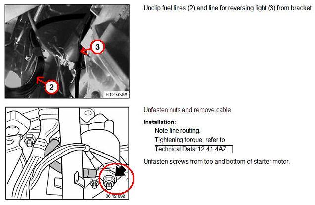 diy starter motor cylinder engine m motor bimmerfest jpg click image for larger version e39 m52 mt starter02