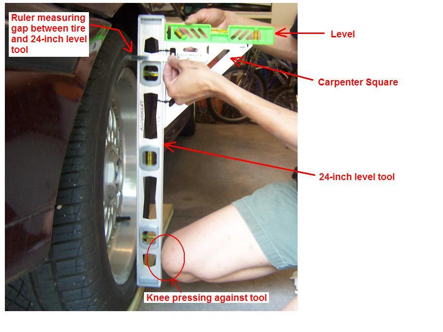 Worksheet. 1998 528i REAR Wheel Alignment