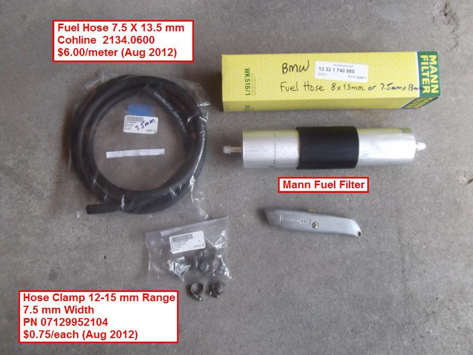 diy 1998 528i fuel filter fuel hose replacement. Black Bedroom Furniture Sets. Home Design Ideas