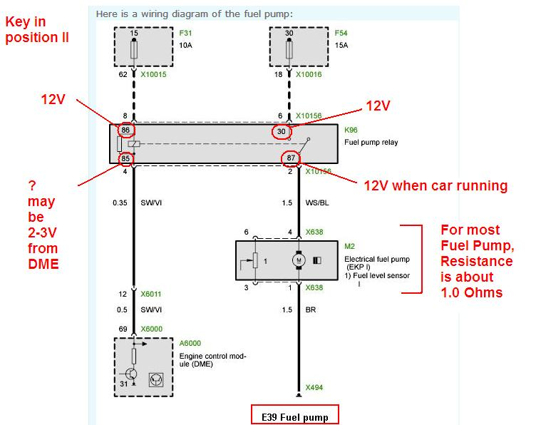 2001 f350 powerstroke fuel pump wiring diagram low voltage at fuel pump - bimmerfest - bmw forums 2001 bmw m3 fuel pump wiring diagram #4