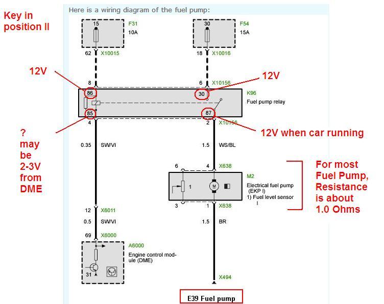 Low Voltage At Fuel Pump Bimmerfest Bmw Forum