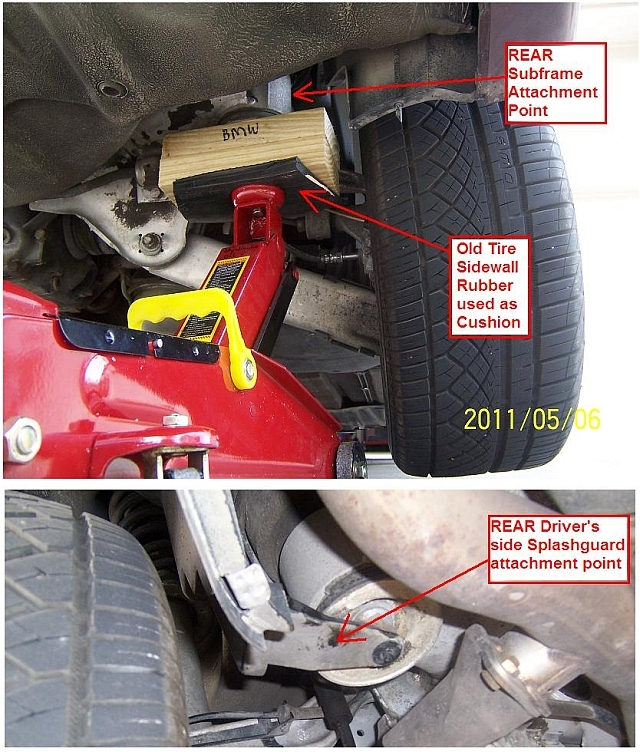 e46 jacking point replacement