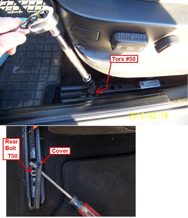 1998 BMW 528i, Replacing Driver Seat Belt Buckle (Pretensioner)