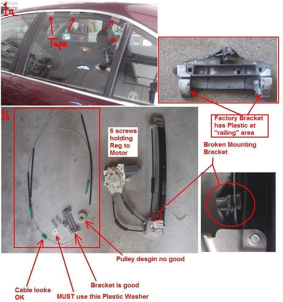 Diy 1998 528i Rear Window Regulator Repair Bimmerfest