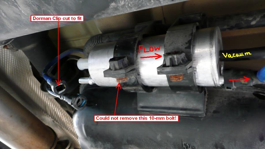 03 745i fuel filter