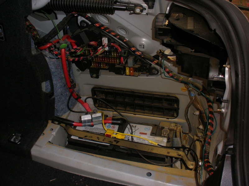 how to install trailer hitch and wiring in a e60 5 series bmw, Wiring diagram