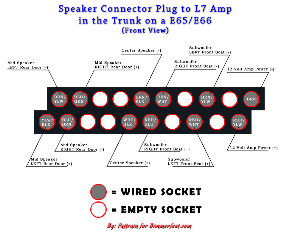 L7 amp problem, here is your fix | BimmerFest BMW Forum | Bmw L7 Amp Wiring Diagram |  | BimmerFest