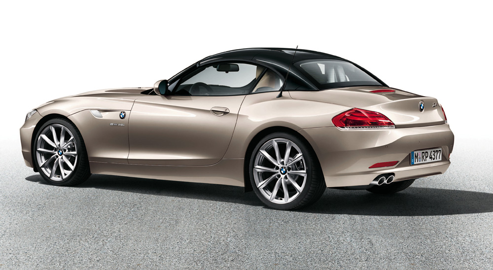 BMW Z4 E89 hardtop in two tone