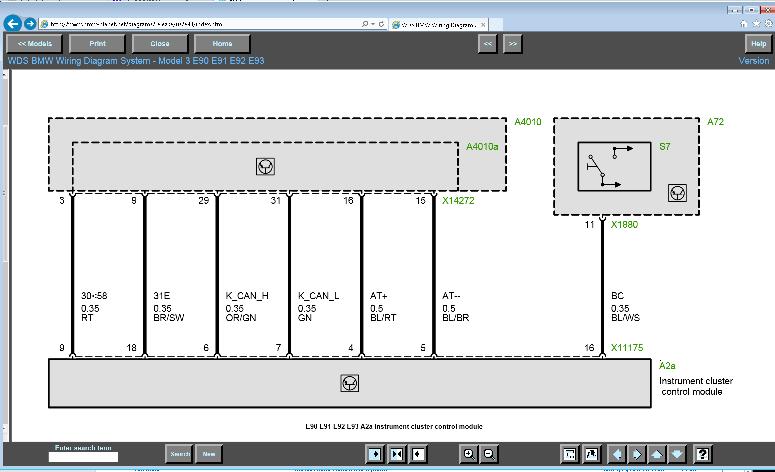 bmw e60 instrument cluster wiring diagram e90 instrument cluster pinouts or schematic   bimmerfest bmw  e90 instrument cluster pinouts or