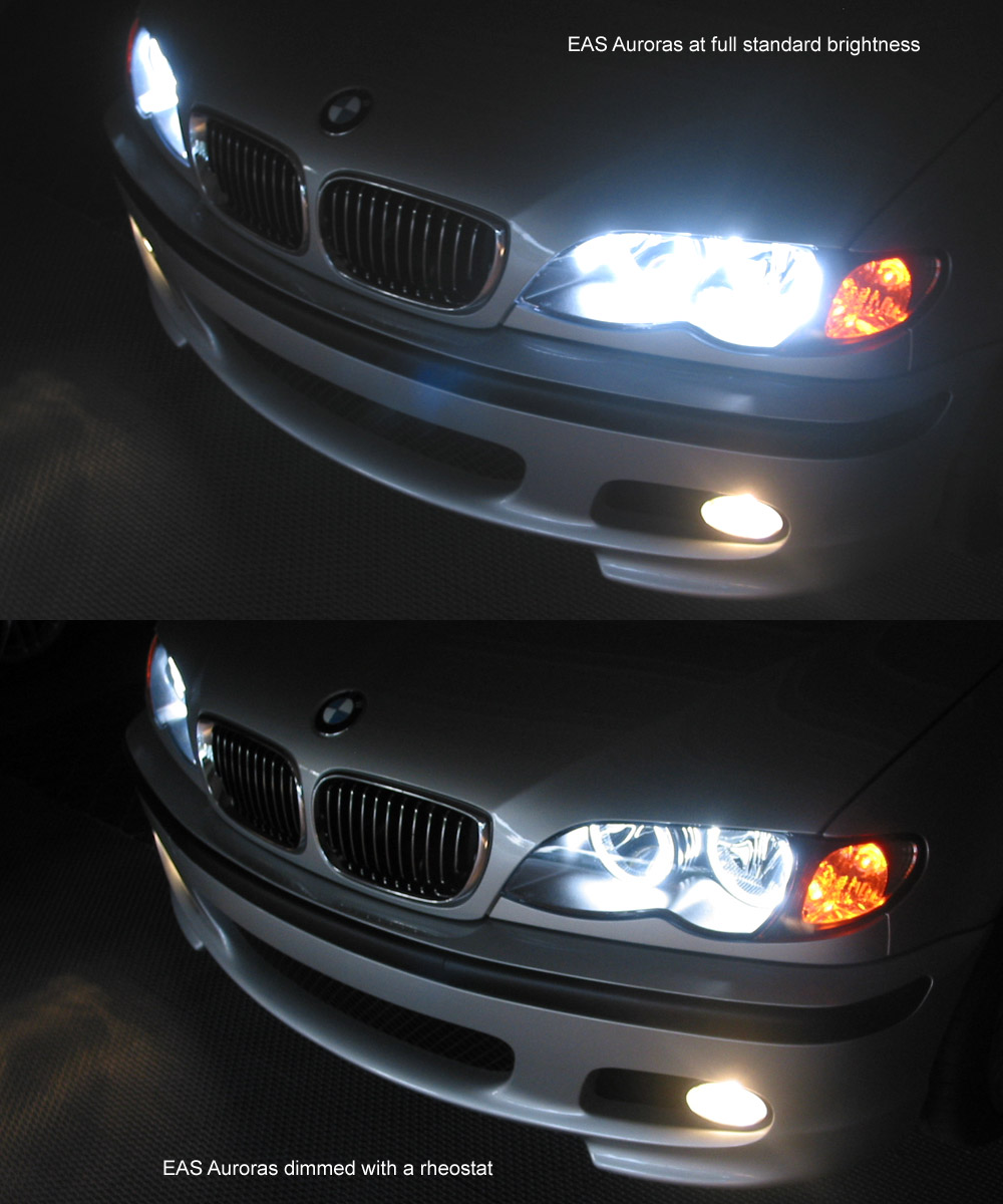 Dimming And Tinting Eas Aurora Angel Eyes Bmw M3 Forum Com
