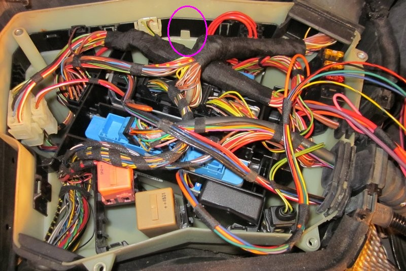 Request clarification of what is inside the ebox under the ...