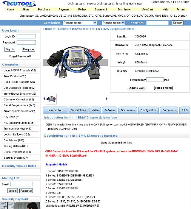 K /& D-CAN für BMW Ediabas Inpa NCS Exp  E81 E82 E87 E88 E36 E46 E90 E91 E92 E39