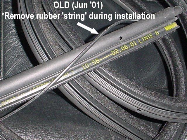 Advice On Replacing Bad Bmw E39 Doorway Neoprene Rubber Gasket