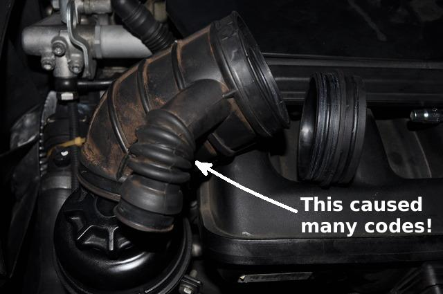 Car was throwing codes    DISA valve! - Bimmerfest - BMW Forums