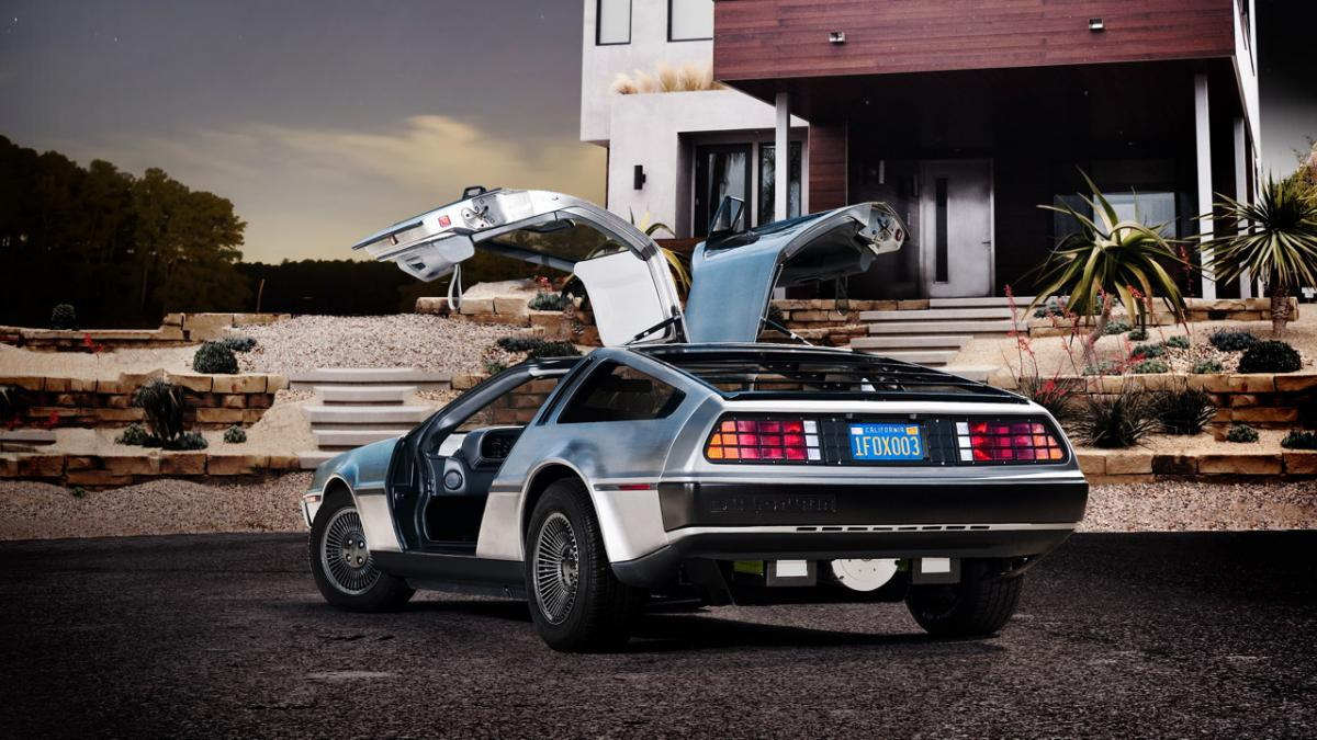 New Electric DeLorean Electric Car Coming 2013