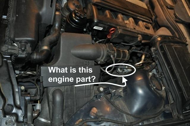 Attachment on Bmw 318i E36 Engine Bay