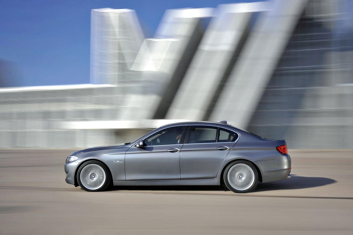 F10 5 series premium segment leader 2012