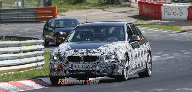 F30 335i Spied on the N�rburgring One More Time!