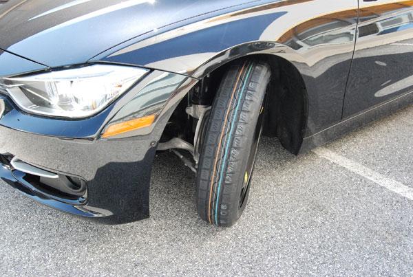 BMW E87 1 SERIES 2006-2010 SPACE SAVER SPARE WHEEL /& TYRE  FREE TOOL KIT