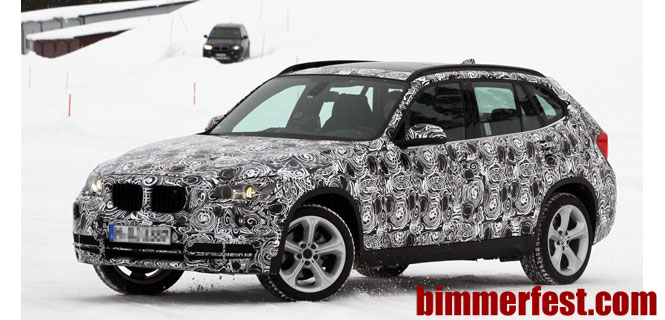 Spied: BMW X1 Facelift - Is the X1 Finally Destined for the US?