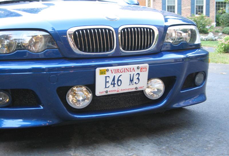 Front License Tag Mount  Bimmerfest  BMW Forums