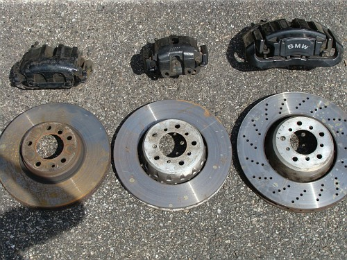 BMW 8 series E31 Stainless Steel Front Brake Caliper bleed screws 4 Pot calipers