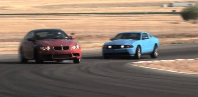 MotorTrend - Ford Mustang GT VS BMW M3 Coupe - Video shoot out!