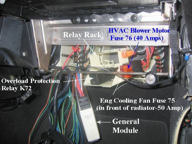 bmw 535i fuse box location picture amp amperage amp description of every single fuse e53 fuse box location
