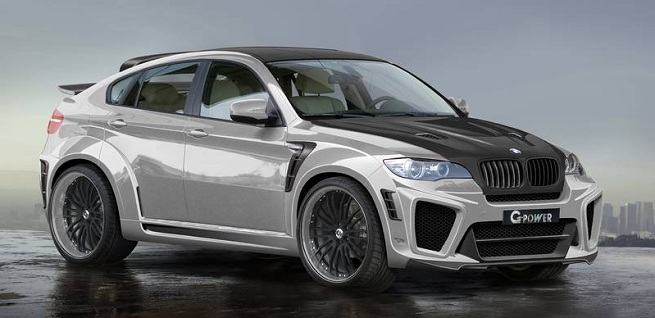 G-POWER X6 TYPHOON RS ultimate V10 based on the BMW X6 M (E71)