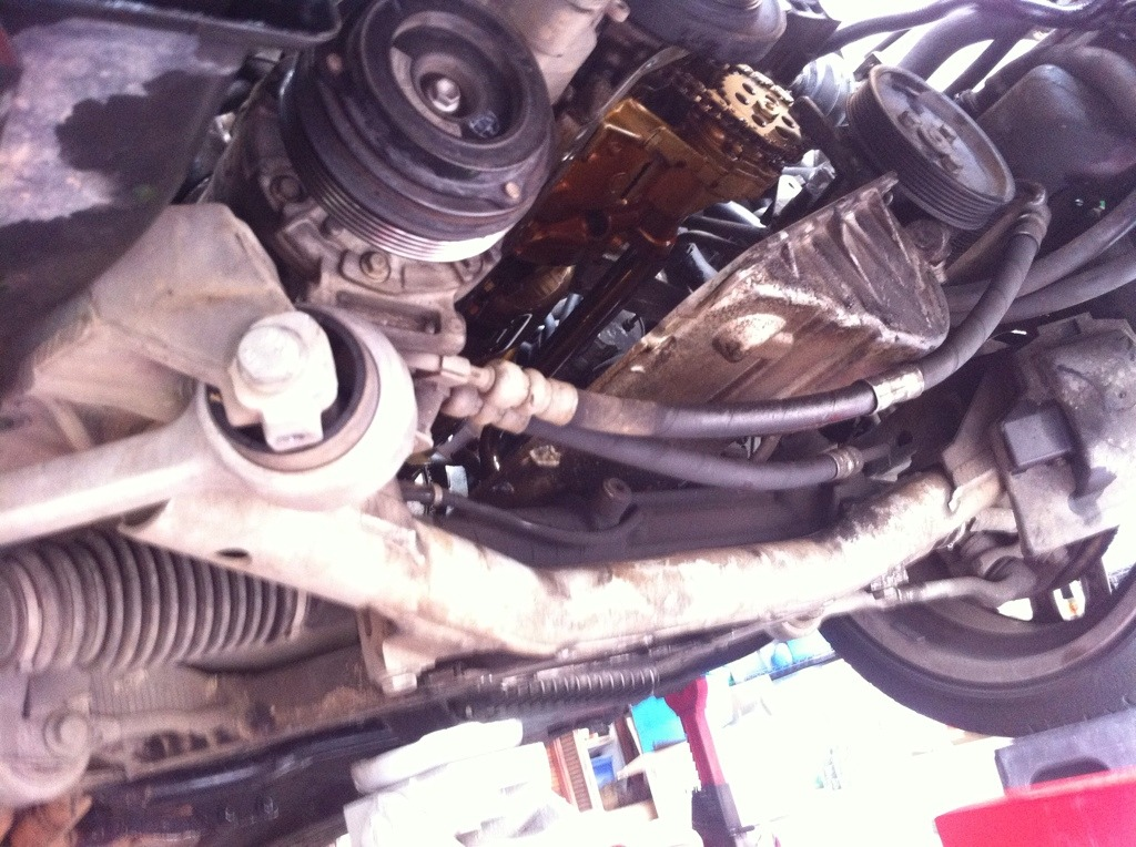 Oil Pan Gasket replacement question? - Bimmerfest - BMW Forums