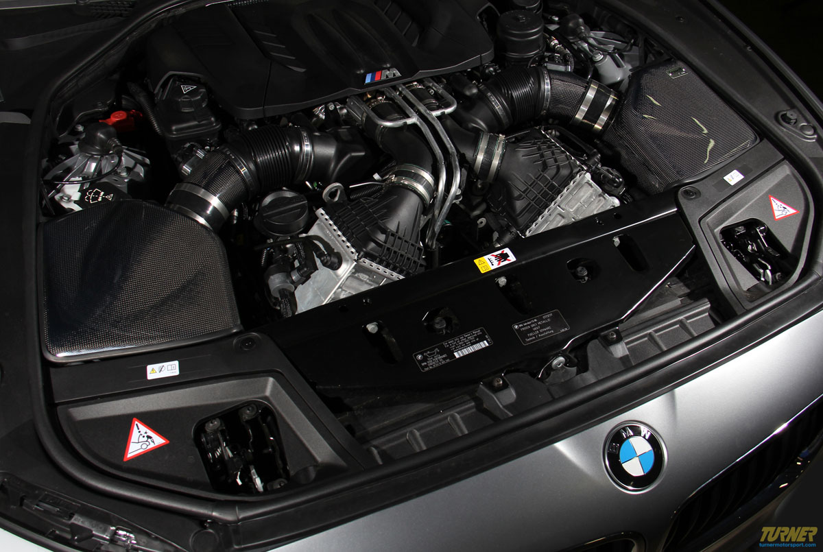 BMW F10 M5 carbon fiber intake