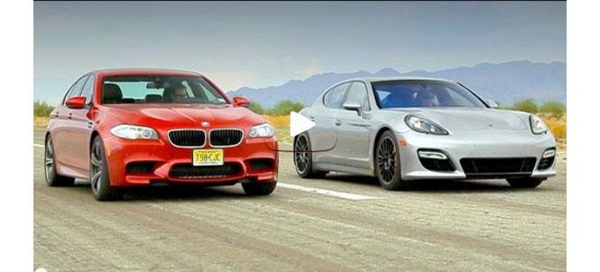 Head 2 Head - BMW M5 vs Porsche Panamera GTS