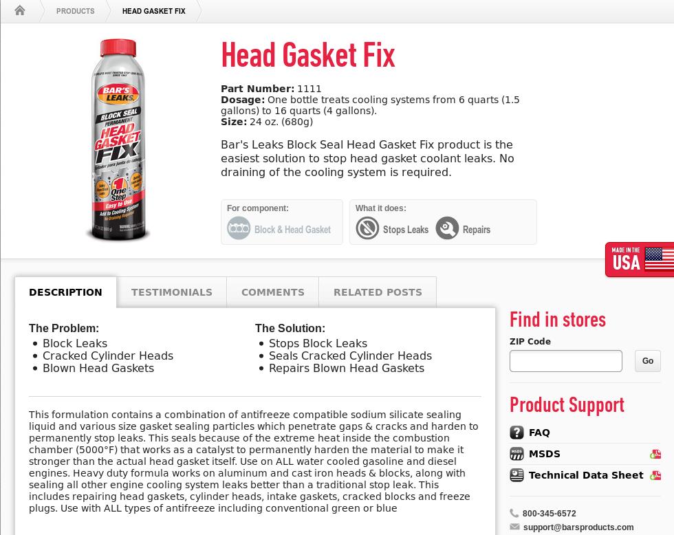 100+ Bars Leak Radiator Sealer Review – yasminroohi